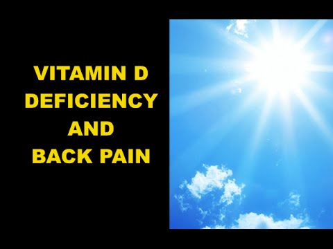 hqdefault - Low Vitamin D And Back Pain