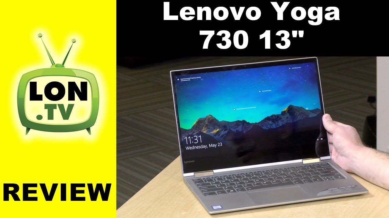 ed923cb115d Lenovo Yoga 730 Review   13 inch 2 in 1 Laptop   Tablet - YouTube
