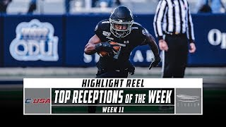 Conference USA Top Receptions of the Week: Week 11 (2019) | Stadium