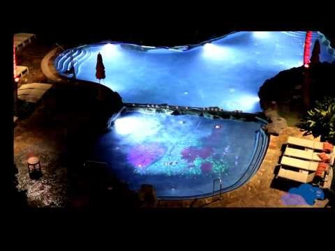Raylight4D™ - 3D Projection Mapping in Pools and Water