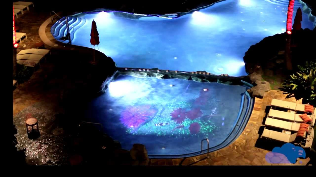 Raylight4d 3d Projection Mapping In Pools And Water