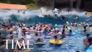 44 People Injured After Freak 'Tsunami' At A Wave Pool In China     TIME