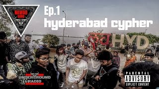 Hyderabad Rap Cypher Ep.1 | nawab gang | hyderabad hip hop