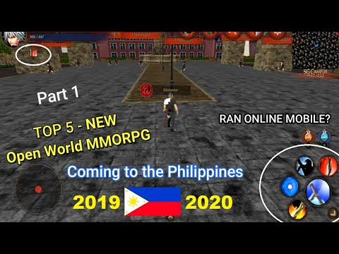 Philippines Top 5 (Open World MMORPG) Games For [Android/IOS] 2019 - 2020 Part 1
