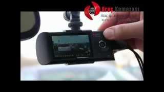 Araç Kamerası HD 1080P Çift Kamera Gps Modüllü