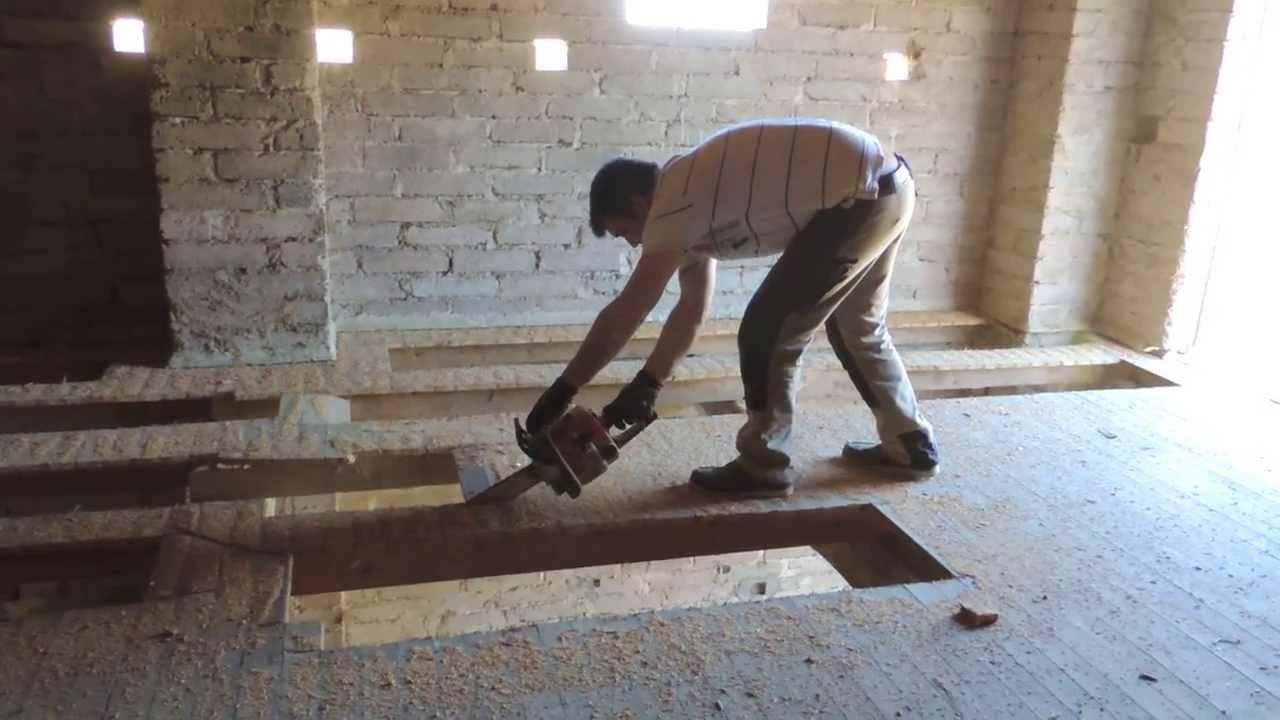 D molition du plafond de notre chambre youtube for Poele a bois exterieur mexicain