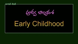 Psychology (Early Childhood) bits for D.Sc,TET, Other Competitive Exams