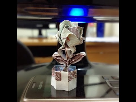 Origami Money Models - Xếp tiền Việt Nam phong cách Origami