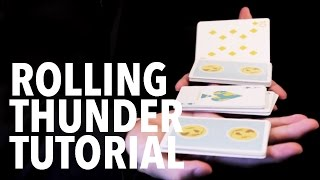 Cardistry for Beginners: Two-handed Cuts - Rolling Thunder Tutorial