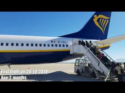 ᴴᴰ✈Fez Saiss To Madrid Barajas✈B737-800✈RYANAIR Full Flight