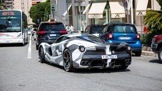 Ferrari LaFerrari Driving around Monaco !