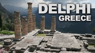 Ancient Delphi, an Important Historical Site in Greece