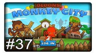 Antike Ninjarolle und Heli! #37 || Let's Play Bloons Monkey City | Deutsch | German