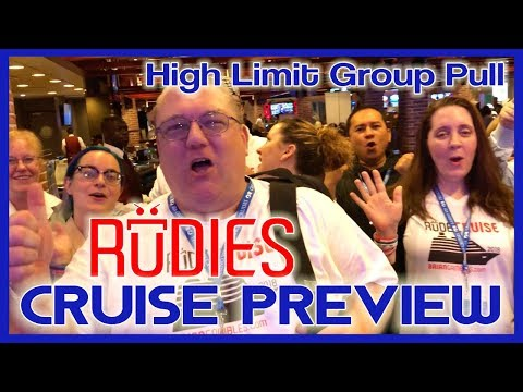 🛳RUDIES Cruise ➡ HIGH LIMIT Group Slot Pull 🎰💰First of Many! ✦ Slots w Brian Christopher