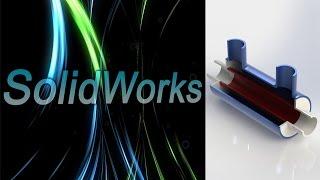 SolidWorks. Резервуар. Урок для Flow Simulation. (Урок 14) / Уроки SolidWorks