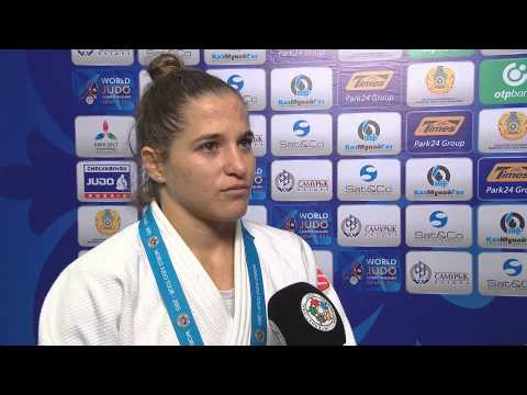Interview Paula PARETO (ARG) winner -48 kg Astana World Championships 2015