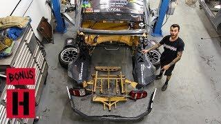 Mason's Mustang Repair - Chevy Powered Ford Gets Rear End Chop Job!