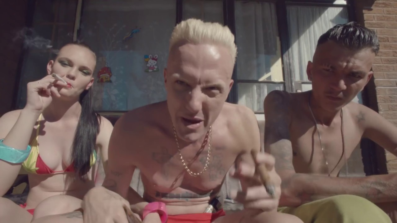 DIE ANTWOORD - BABY'S ON FIRE (OFFICIAL) #1