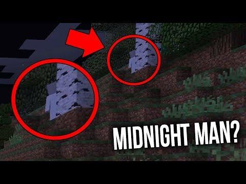 Неужели я смог найти Midnight Man в Minecraft? (Midnight Man Майнкрафт)