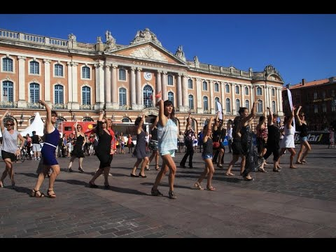 flashmob Salsa Flamenca - Toulouse 2015 - flamencometis.com