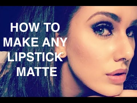 how-to-make-any-lipstick-matte!?-first-impressions-smashbox-instamatte!-|cassandra-bankson