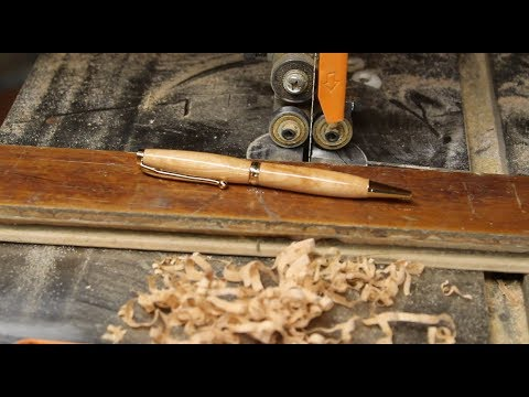 Making a Hitchins Gym Floorboard Pen