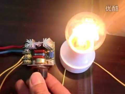 AC 220V 4000W Spannungsregler Licht Abblendschalter Motor Drehzahlregler Schalter Gouverneur Lüfter