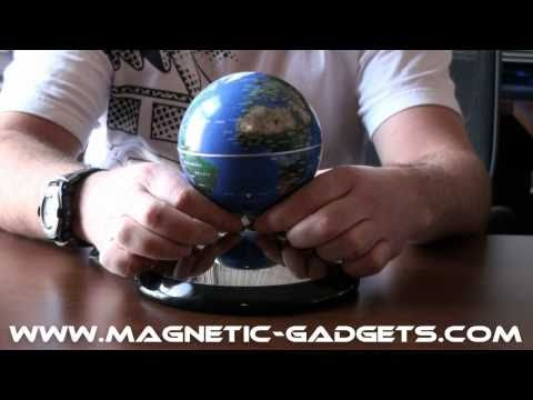 Amazing levitating globe and antigravity floating display