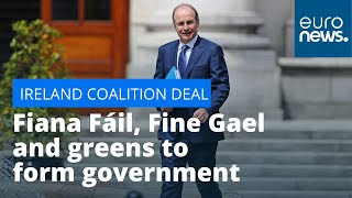 Ireland coalition deal: Fiana Fáil, Fine Gael and greens to form coalition government