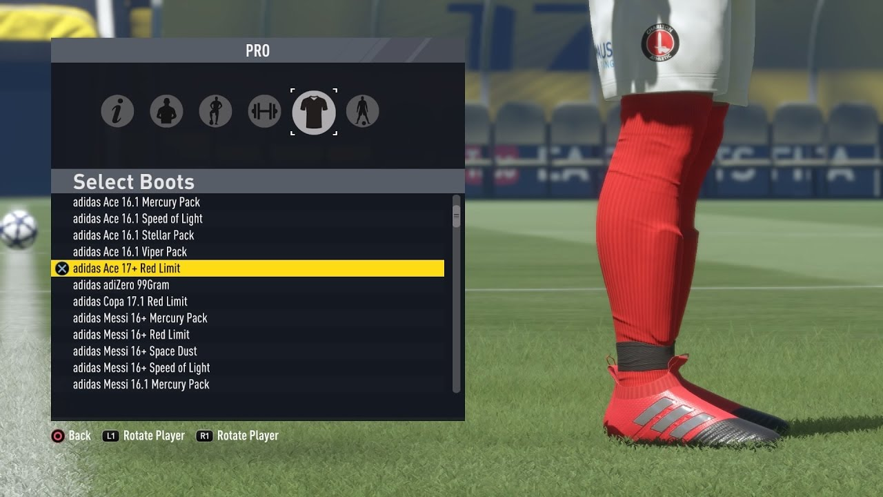 FIFA17 - All Boots  March 2017 - YouTube bbf692c4beb