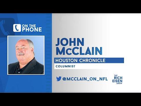 Houston Chronicle's John McClain Talks DeAndre Hopkins Trade W/Rich Eisen | Full Interview | 3/17/20