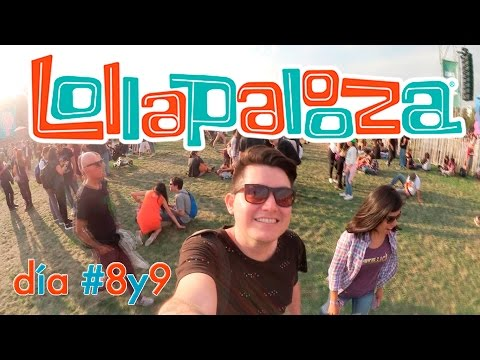 Llegamos al Lollapalooza / Chile 2017 Megavlog