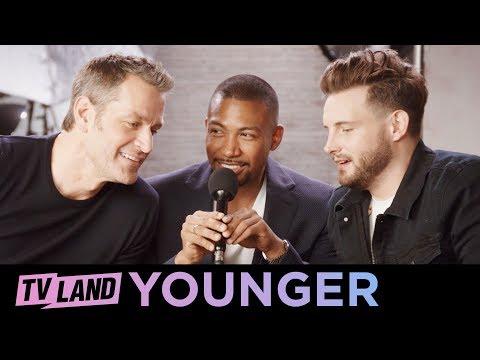 Soft Spoken ASMR w/ the Men of Younger   TV Land