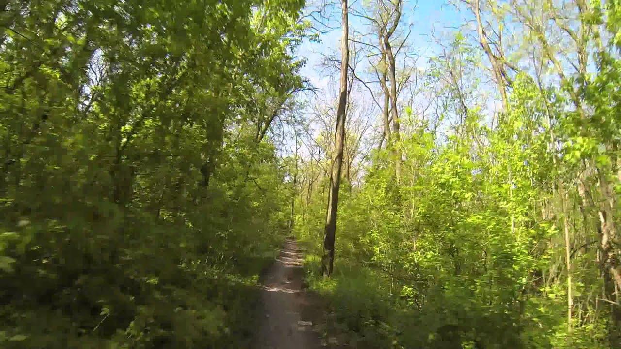 Ростов-на-Дону катание на велосипеде в лесу. GoPro Hero3 - YouTube