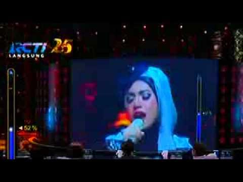 [woooow keren] Indah Nevertari   Cindai Siti Nurhaliza Rising Star Indonesia 12 Desember 2014