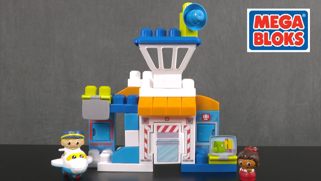 3ee20ba3230 Skybright Airport from MEGA Bloks - YouTube