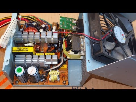 How To Repair a Computer Power Supply (or other switching po