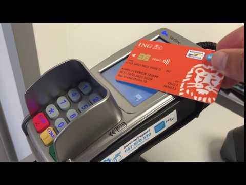 Contactless payment CCV Belgium