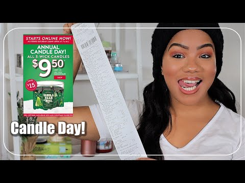 Bath And Body Works Candle Day 2020 Haul!