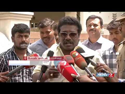 Rajnikanth said i must continue acting : Karunas | News7 Tamil