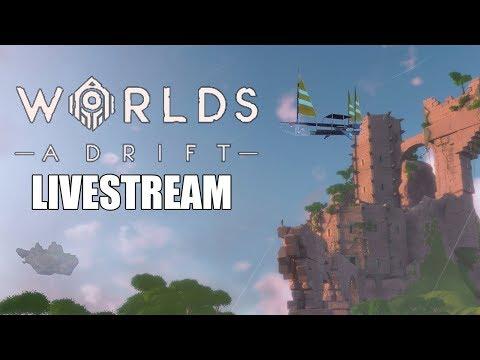 Back to the Open Skies! - Worlds Adrift Gameplay - Closed Beta - Livestream