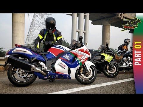 Delhi to Agra on Suzuki Hayabusa   Xbhp RoadTripUnited!