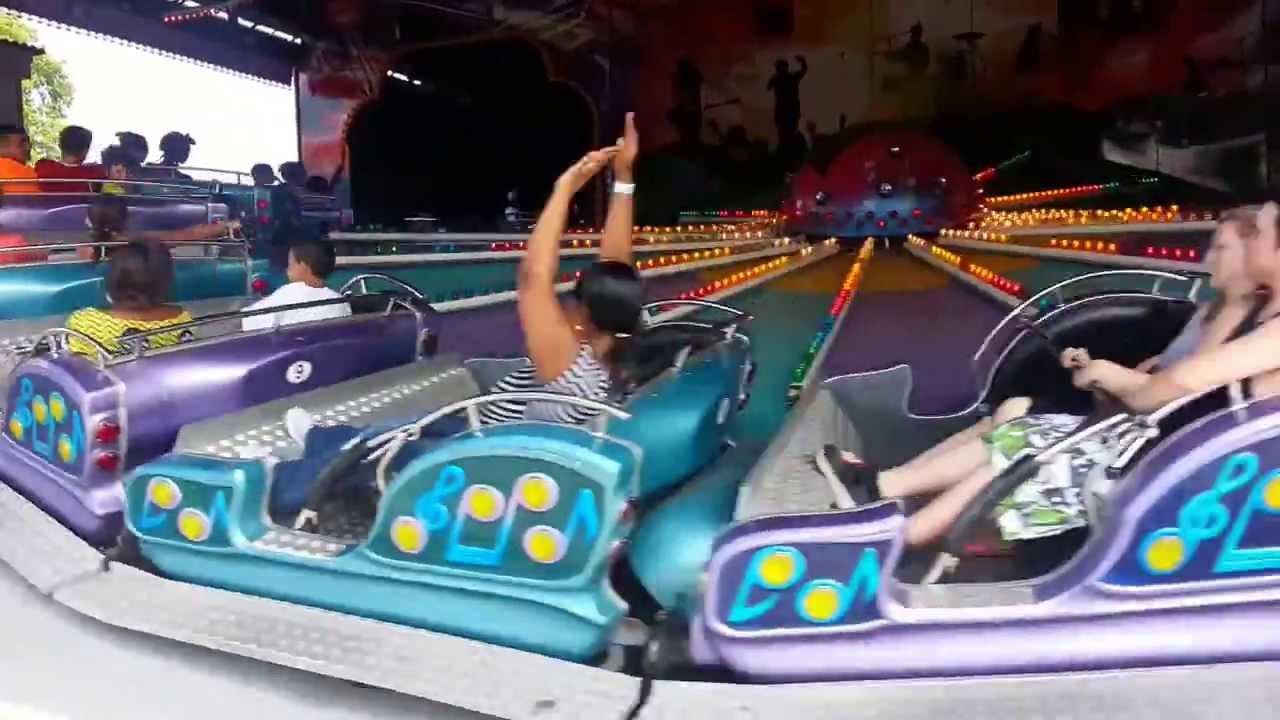 2013 Seabreeze Amusement Park Music Express Ride Youtube