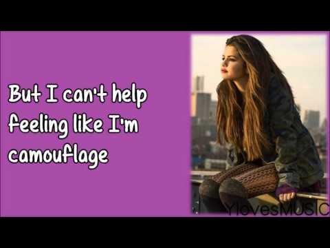 Selena Gomez - Camouflage (Lyrics)