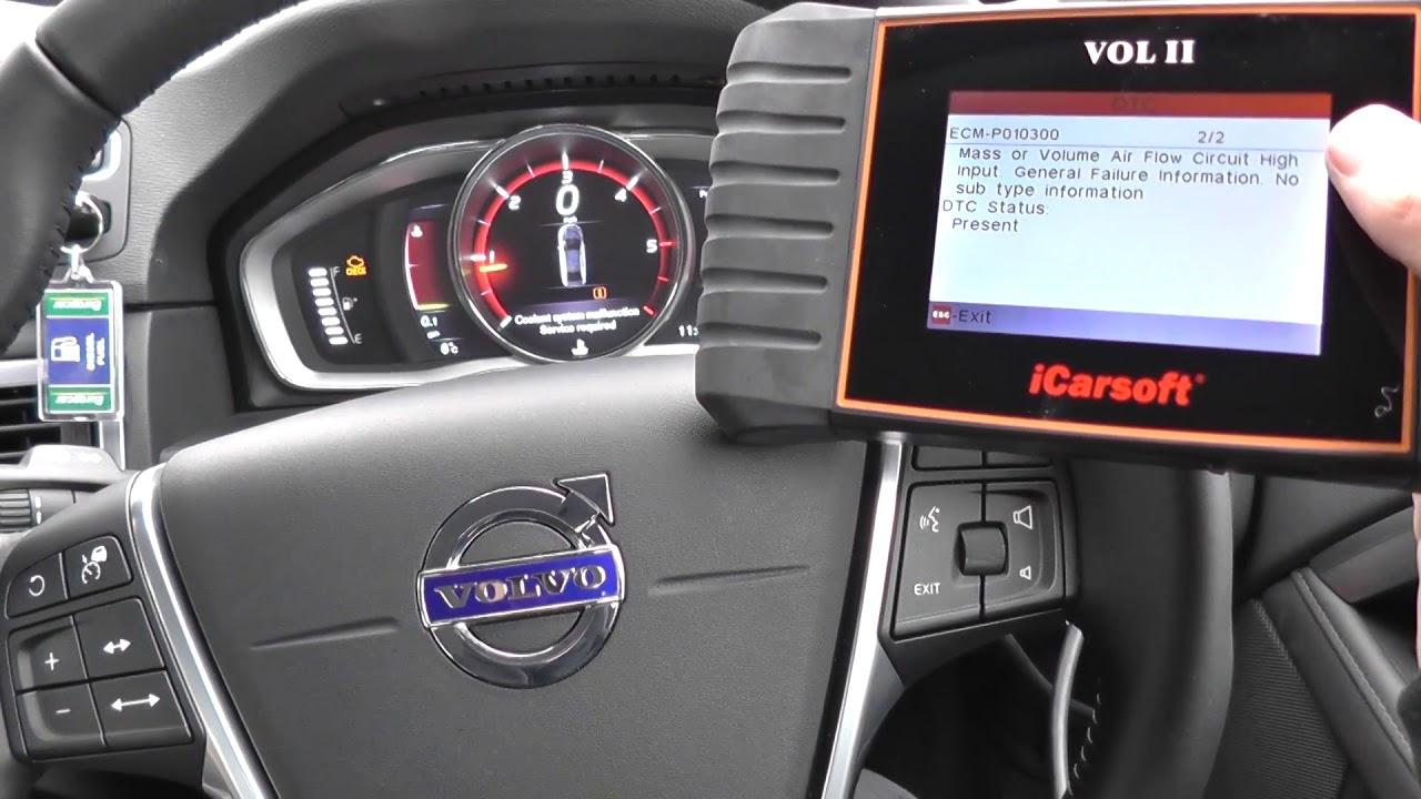 iCarsoft VOL II Volvo & Saab Oil Service Reset & Multi