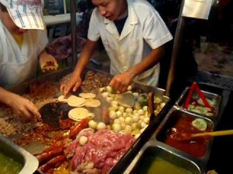 The Real Mexican Tacos, Patzcuaro Mexico - YouTube