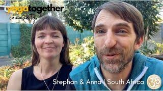 Stephan & Anna | South Africa | Yoga Together Reviews & Testimonials