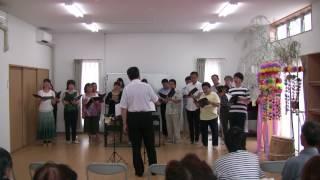 2017/8/5 南三陸町中央復興住宅集会所にて 演奏 たりずすこらーず.