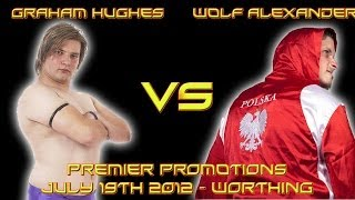 Graham Hughes Vs Wolf Alexander - Premier Promotions - Worthing - 19/7/12