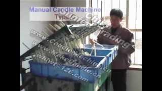 Ручна машина робити свічки, зроблені в Китаї, 4 види